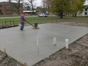st peters mo concrete slab concrete garage